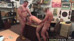 Huge Dick Guy Pawns Jewelries And His Dick To Bail Out His Girlfriend