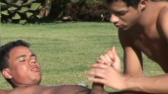 Gay Latino Riding And Loving It - Scene 1