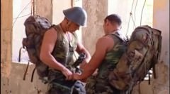 Military Hunk Get Rammed By His Mate