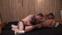 The Devil Did The Dickin - Scene 2 - Damon Doggs Cum Factory