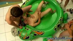 Piss Boy Male Gay Soaking Krist Cummings!