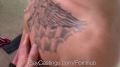 Gaycastings - Casting Agent Gets Sean Christopher To Take His Cock