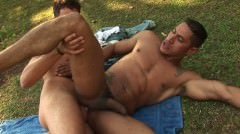 2 Sexy Latins Fucking Outdoor.