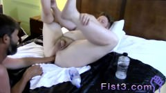 Hairy Gay Fisting Bare Sky Works Brock`s Hole With His Fist