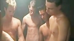 Gorgeous Hung Young Lads Raw Fuck In Gang Bang