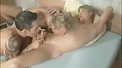 Two Hot Guys Fuck A Cutie Raw