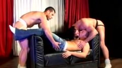 Passionate Twink Threesome