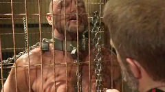 Slave Fucked By A Brutal Leather Daddy
