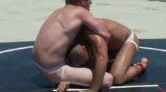 Wrestling In The Sun
