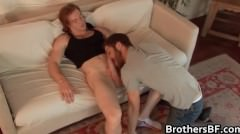 Brothers Sexy Boyfriend Gets Cock Sucked Part4