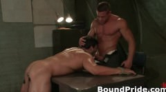 Tyler And Vince Hunky Muscle Gays Part3