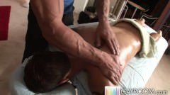 Young Stud Gets A Muscular Massage
