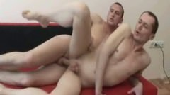 Hot Gay Studs Risky Fucking And He Cums In His Asshole