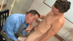 Student Gets His Hard College Cock Part6