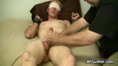 Blindfolded Cory Gets His Jizzster Part5