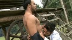 Juicy Dark Cock Fucks Latin Dude And Give Hot Sperm