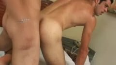 Sexy Horny Latino Hunk Riding His Partners Juicy Hard Cock