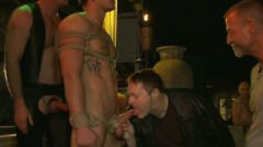 Trent Diesel Gets Tied, Beaten And Gangbanged At Helios Resort