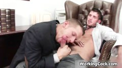 Shane Frost Fucks And Sucks In Work Part3