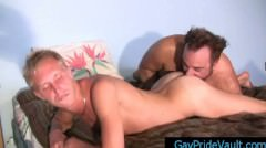 Blond Is Getting His Ass Rimmed By Bear Part4