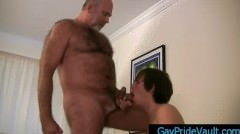 Old Gay Bear Getting His Dick Sucked By Twink Gaypridevault Part4