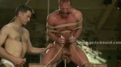 Strong Powerfull Gay Prey Tied To Stay Under Water Then Br