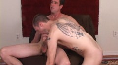 Str8 Us Navy Super 10`` Hung Muscle Hunk Sucked By Hot Tattooed Trade Boy.