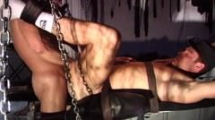 Cbt Muscle Stud Orgy With Mechanical Hitting Device And More.