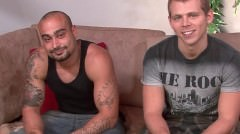 Str8 Manly Arab Dude Returns To Fuck Hot Gay American Porn Star.