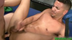 Dallas And Mario Fucking In Boxers Ring Part5