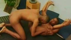 Ebony Men In A Steamy Gay Hardcore Action