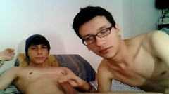 Two Young Gay Students Blow Job