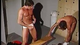 Horny Big Dicked College Jocks - Scene 4