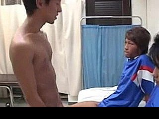 Japanese Doctor And Japanese Football Player