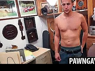 Horny Stud Gets Naked For More Money The Pawn Shop