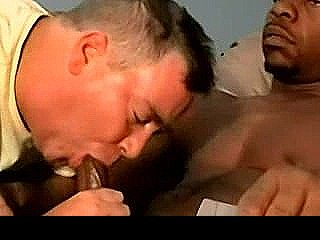 Amateur Ebony Hunk Getting His Hard Cock Sucked On