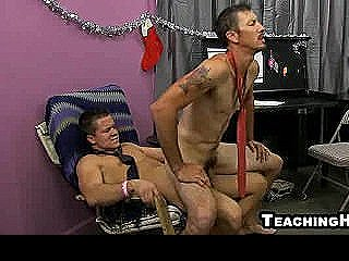 Drake Mitchell Taking A Hard Cock In His Asshole