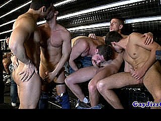 Gaybar Group Orgy With Countless Amateurs