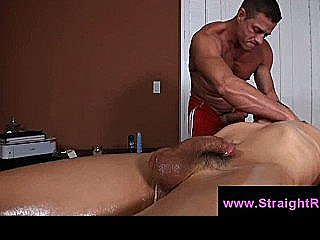 Gay Masseur Face Fucks Boy During Tricky Massage Session