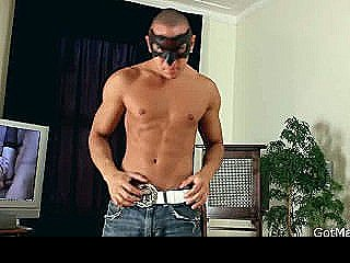 Very Good Looking Guy Stripping