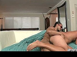 Steve Fucks And Sucks Fat Black Cock