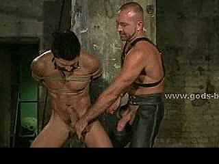 Pair Of Gay Boys Bound Whiped And Fucked With Dicks And Bondage Devices