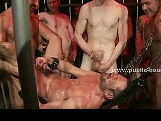 Gay Adult Hunk With Beard Suck Then Fucked In Sadomaso Extreme Bondage Sex