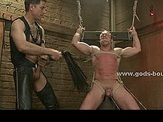 Rough Wild Gay Man Suspended In Air Tied Is Fucked In Bondage Total Sex By Sadomaso Hunk