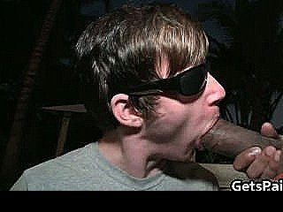 Scared Dude Waiting To Get Assfucked