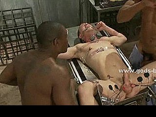 Secret Facility Patient Taken By Gay Guard And Assistant And Force To Fuck In Bdsm Fetish Video