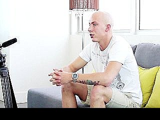 Bald Guy Banged In The Asshole