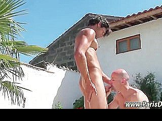 Naughty Amateur French Guy Cums
