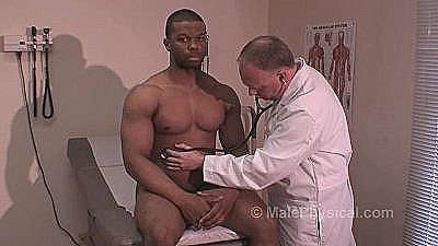 Black Body Builder Physical Exam 4