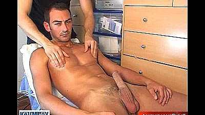 A Straight Guy Serviced And Get Wanked And More...